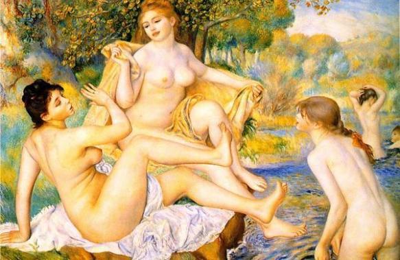 As banhistas Renoir